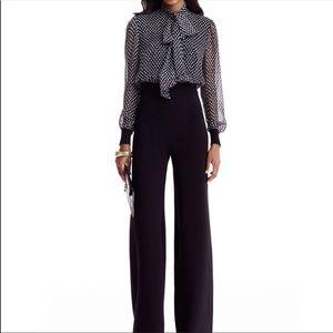 Diane von furstenberg Arabella silk jumpsuit